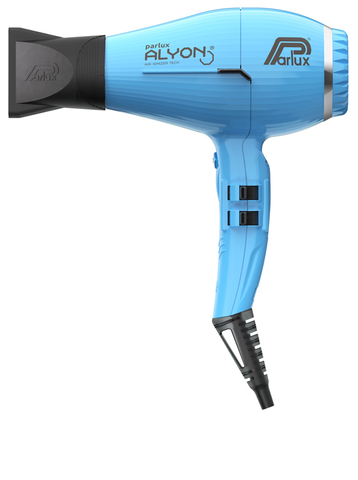 Фен Parlux Alyon Ionic, 2250 Вт, 2 насадки, голубой