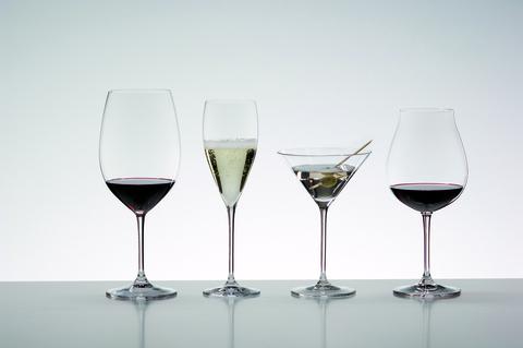 Набор из 2-х бокалов для мартини Martini 270 мл, артикул 6416/37. Серия Vinum XL