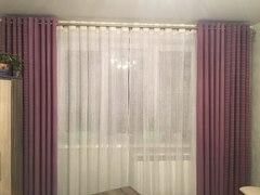 Пример работы покупателя ЛиноБалт из ткани этого артикула