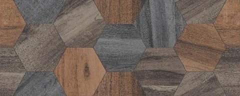 Плитка настенная Керамин Декор Миф 1 объемный 200х500
