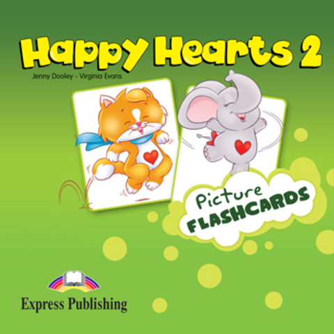 Happy Hearts 2. Picture Flashcards. Наглядный материал