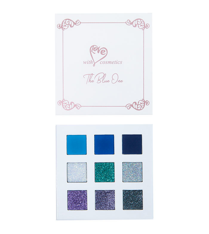 With Love Cosmetics The Blue One Palette