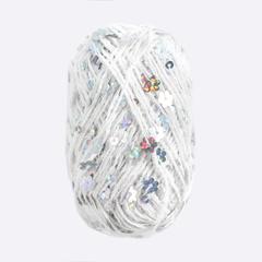 Белый с цветочками / 261011