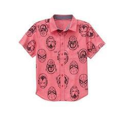"""GYMBOREE Рубашка с """"супергероями"""" МВ2"""