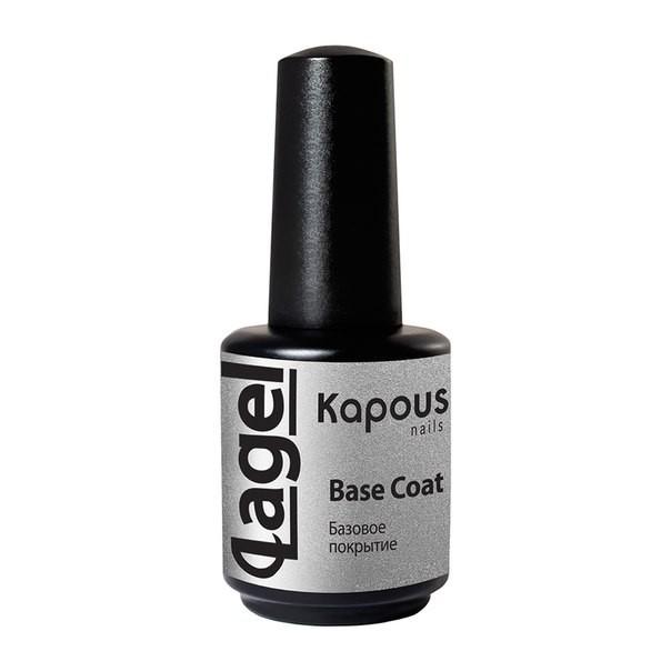 Эластичное базовое покрытие LAGEL, Kapous Nails, 15 мл