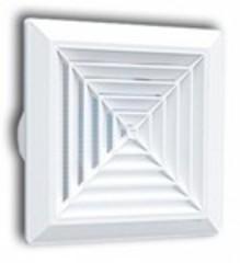 Решетка 160х160 D 125 (пк 160/125)
