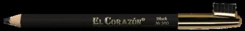 El Corazon карандаш для бровей 300 Black