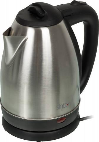 Чайник электрический Sinbo (1,8 литра) 2200 Вт, серебристый