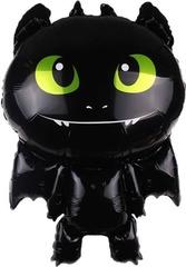 К Фигура, Маленький дракон, Черный, 34''/86 см, 1 шт.