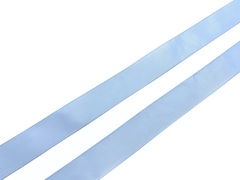 Репсовая лента (сантюр) 25мм, голубая
