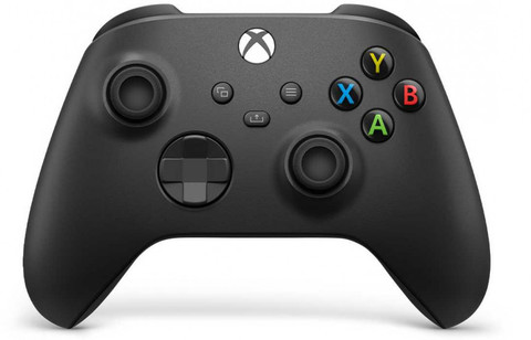 Беспроводной геймпад Carbon Black (Xbox, черный, QAT-00002)