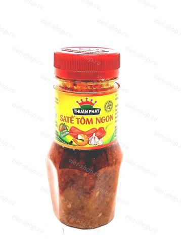 Вьетнамский соус с перцем и креветочным пюре, Sate, 85 гр.