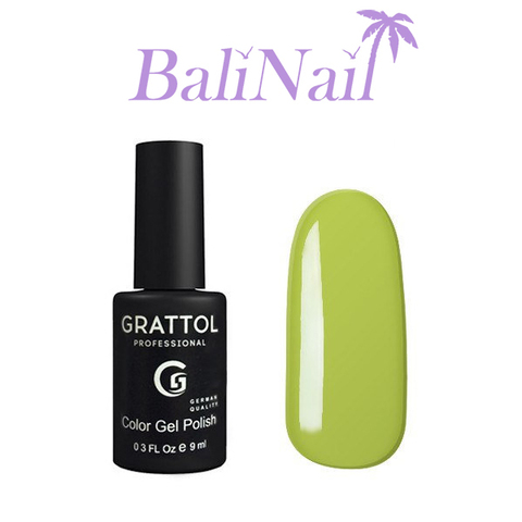 Grattol Color Gel Polish Grass - гель-лак 106, 9 мл