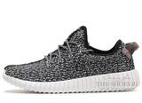 Кроссовки Мужские Adidas Originals Yeezy 350 Boost Black Grey