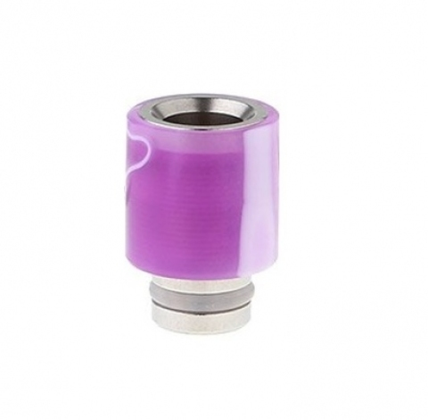 Drip-Tip Acrylic wrapped SS Hybrid фиолетовый