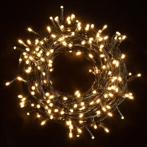 LED светодиодная нить уличная гирлянда 10 метров string