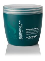 New Маска для поврежденных волос SDL RECONSTRUCTION REPARATIVE MASK, 500 МЛ ALFAPARF 16411