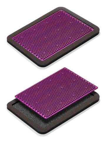Аппликатор для ног металломагнитный, 15х22, фиолетовый