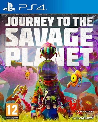 Journey to the Savage Planet Стандартное издание (PS4, русские субтитры)