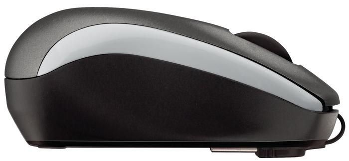 LOGITECH Corded Mouse M125 silver