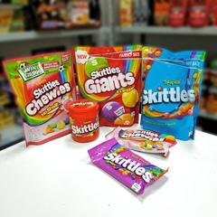 Skittles Fruits Жевательные конфеты Скитлс 125 гр