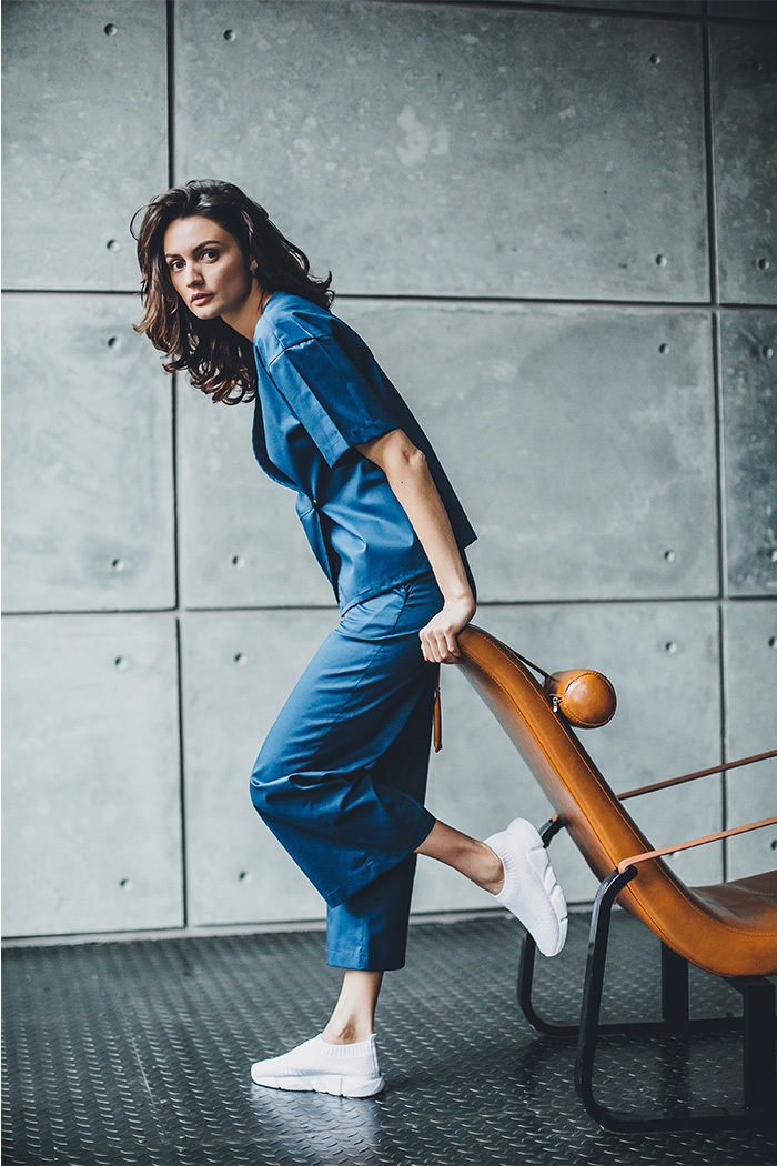 Блуза женская медицинская М 295