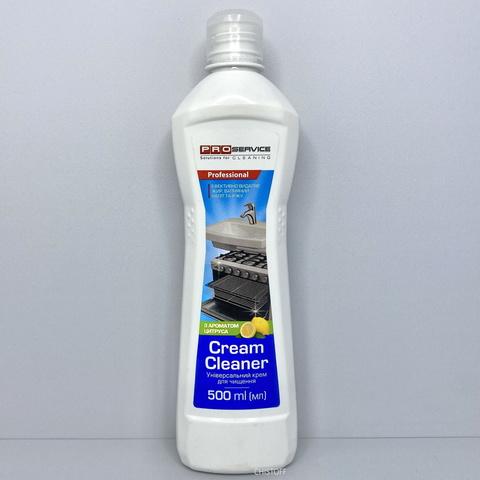 Чистящий крем универсальный PRO Service Лимон 500 мл