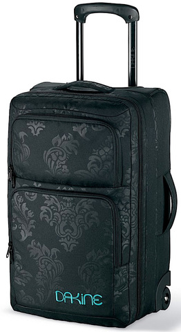 Картинка сумка на колесах Dakine Carry On Roller 36L Flourish - 1