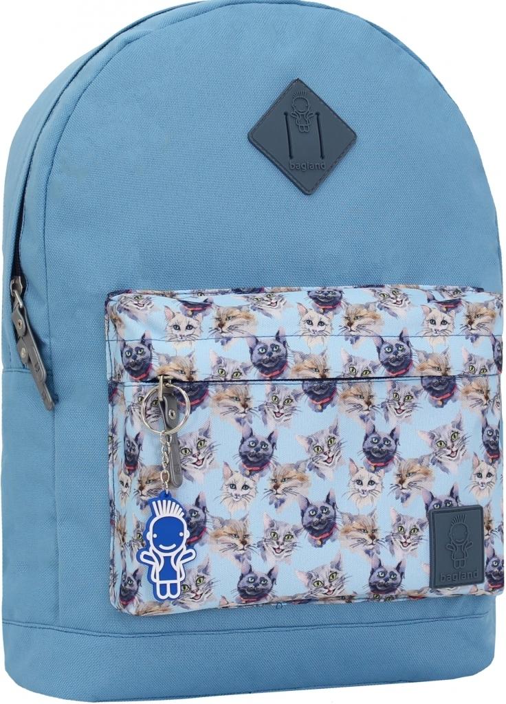 Городские рюкзаки Рюкзак Bagland Молодежный W/R 17 л. 190 блакитний 148 (00533662) 2a2f98d3597419498e4d734d8c2dd106.JPG