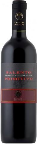 Вино Due Palme, Primitivo IGT, 2013, 0.75 л