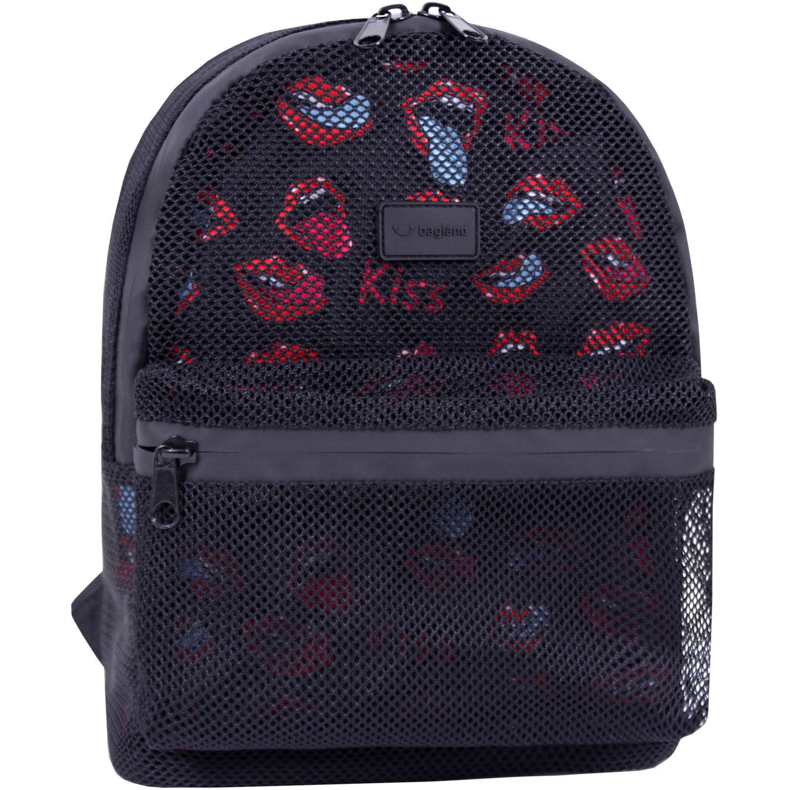 Модные рюкзаки Рюкзак Bagland Grid 8 л. черный  (0019204) IMG_9042.JPG