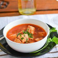 Суп красный рыбный с сельдереем / 350 мл