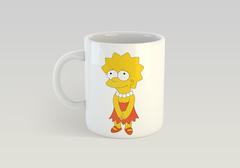 Кружка с рисунком из мультфильма Симпсоны (The Simpsons) белая 0010