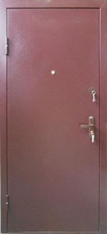 Дверь входная Иня стальная, итальянский орех, 2 замка, фабрика Город Мастеров