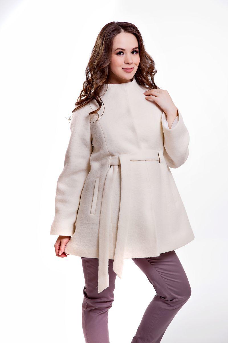 Пальто для беременных 05218 белый