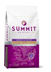 Корм для котят и кошек SUMMIT HOLISTIC три вида мяса с цыпленком, лососем и индейкой