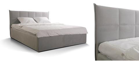 Кровать ГАЛА  Newtone light grey