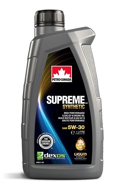 SUPREME SYNTHETIC 5W-30 моторное масло Petro-Canada API SP (1 литр)