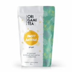 Японский чай Origami Tea Sweet matcha с имбирём 50 гр