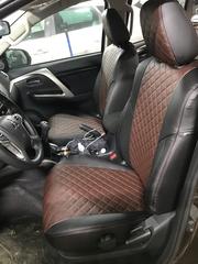 Чехлы на Mitsubishi Pajero Sport III 2015–2021 г.в.
