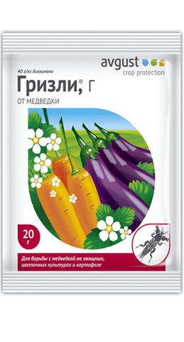 Инсектицид Гризли (от медведки)