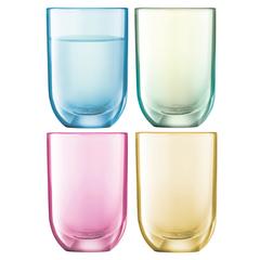 Набор из 4 стопок для водки Polka, 60 мл, пастель, фото 1