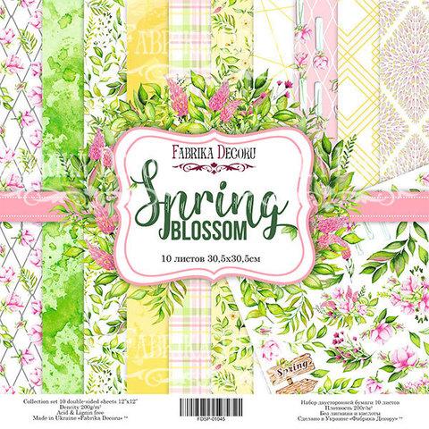 Набор скрапбумаги Spring blossom 30,5x30,5 см 10 листов