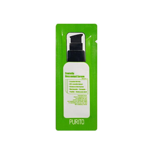 Сыворотки для лица Сыворотка для лица PURITO Centella Unscented Serum(sample) 220687836.jpg