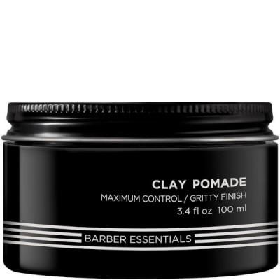 Redken Brews: Помада-глина для укладки волос (Clay Pomade), 100мл