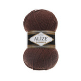Пряжа Alize Lanagold 583 коричневый