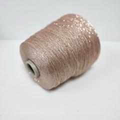 Industria Italiana, Frizzante, Нежно-розовый с золотом, вискоза с люрексом, 3500 м в 100 г