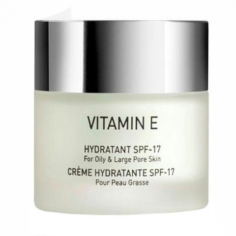 Gigi Vitamin E Hydratant SPF 17 for oily skin, Увлажняющий крем для комбинированной и жирной кожи SPF 17, 250 мл.