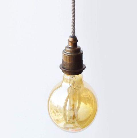 Подвесной светильник латунный PM-H Old Ottone Англия