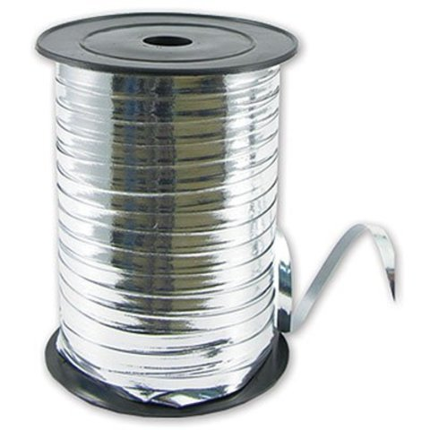 Лента металлизир 5ммХ250м серебряная #2